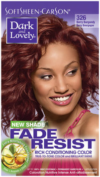 SoftSheen-Carson® Dark and Lovely® Fade Resist Rich Conditioning Color 326 Berry Burgundy 1 Kit Box