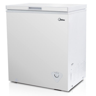 Midea Whs-185c1 Freezer - 5 Ft - White (whs-185c1)