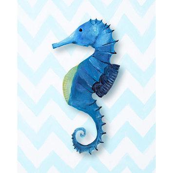 Cici Art Factory Nautical Seahorse Paper Print Art