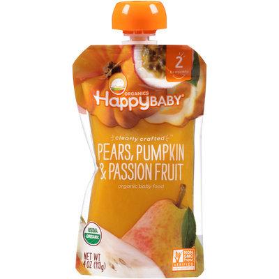 Happy Baby® Organics Pears, Pumpkin & Passion Fruit 4 oz. Pouch