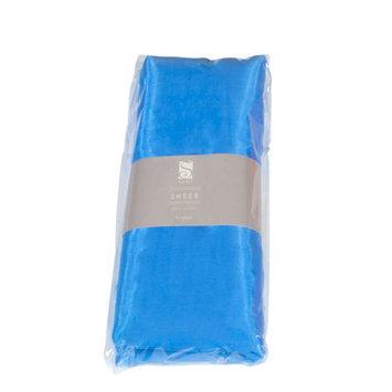 Saro Organza Fabric Bundle Color: Blue
