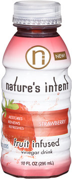 Nature's Intent® Strawberry Vinegar Drink 10 fl. oz. Bottle