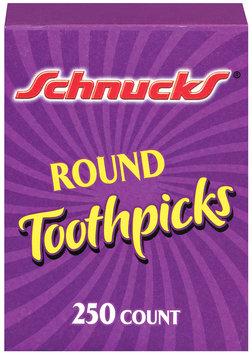 Schnucks Round Toothpicks 250 Ct Box
