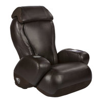 Red Barrel Studio Leather Reclining Massage Chair Upholstery: Espresso SofHyde