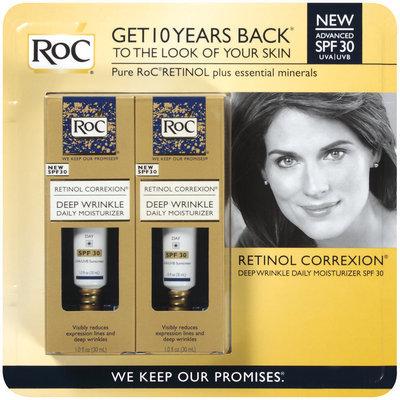 Roc® Deep Wrinkle Daily Moisturizer 2 Pk Retinol Correxion® 2 Fl Oz