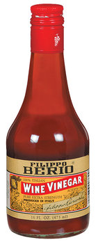 Filippo Berio Red Wine Vinegar Wine Vinegar 16 Oz Glass Bottle