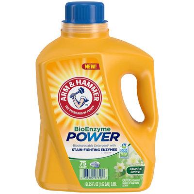 Arm & Hammer™ Botanical Springs BioEnzyme Power Laundry Detergent 75 Loads 131.25 fl. oz. Jug