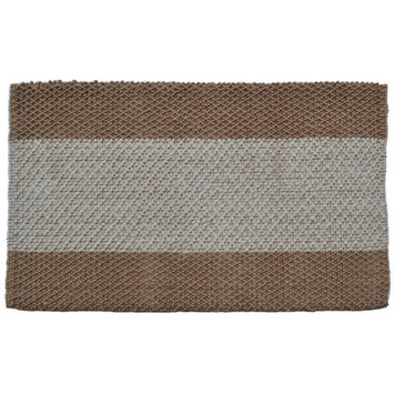 Wide Stripes Jute Rug - by Imports Decor - 743JTR