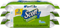 Scott® Naturals™ Flushable Cleansing Cloths 102 ct Pack