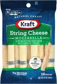Kraft Mozzarella String Cheese 12 ct Bag