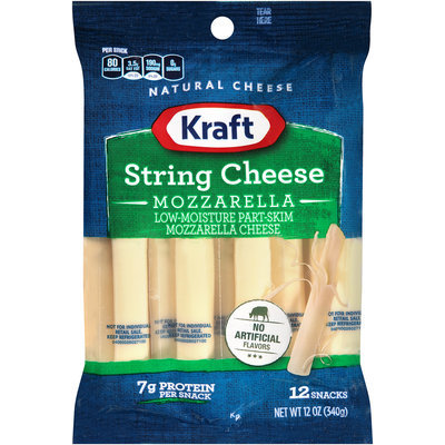 Kraft Mozzarella String Cheese 12 ct Bag