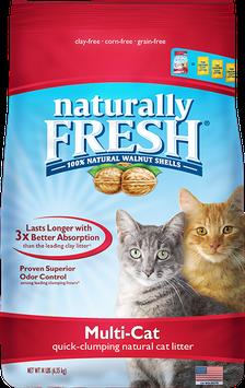Naturally Fresh Multi-Cat Clumping Litter 224