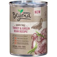 Purina Beyond Grain Free Turkey & Green Bean Recipe in Gravy Dog Food 12.5 oz. Can