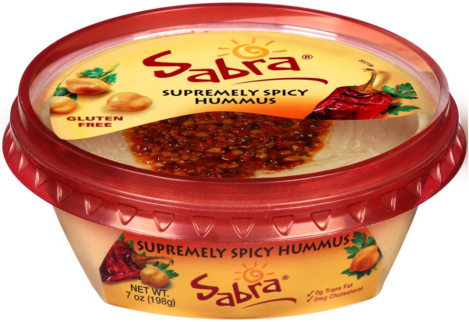 Sabra® Supremely Spicy Hummus 7 oz. Tub
