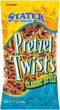 Stater Bros.® Classic Style Pretzel Twists 10 oz. Bag