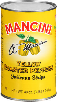 Mancini® Yellow Roasted Peppers Julienne Strips 48 oz. Can