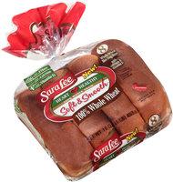 Sara Lee® Soft & Smooth® 100% Whole Wheat Hot Dog Buns 8 ct Bag