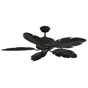 Craftmade International PAP52ABZ5RCDI Pineapple Outdoor 52 in. Ceiling Fan with