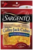 Sargento® Natural Colby-Jack Cubes® Cheese