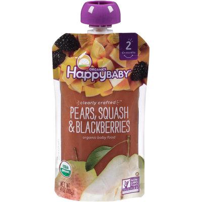Happy Baby® Organics Pears, Squash & Blackberries 32 oz. Box