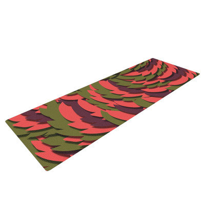 Kess Inhouse Wings III by Akwaflorell Yoga Mat