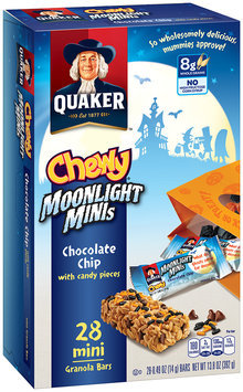 Quaker® Chewy Moonlight Minis, Chocolate Chip