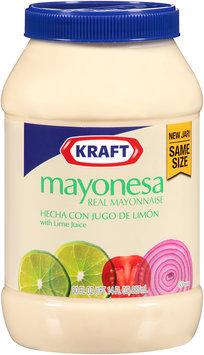 Kraft Real Mayonnaise with Lime Juice 30 fl. oz. Jar