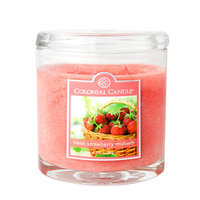 Fragranced in-line Container CC008.1234 8oz. Oval Fresh Strawberry Rhubarb - Pack of 4