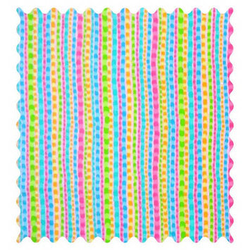 Sheetworld Pearl Stripes Fabric by the Yard