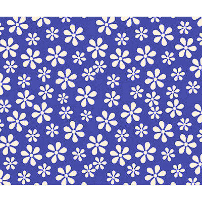 Sheetworld Primary Floral Woven Portable Mini Fitted Crib Sheet Color: Royal