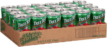 Tree Top® 100% Apple Juice 6-5.5 fl. oz. Cans