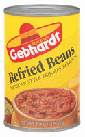 Gebhardt Mexican Style Refried Beans 16 Oz Can