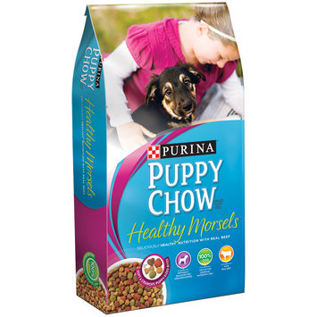 Purina Puppy Chow Healthy Morsels Puppy Food 16.5 lb. Bag
