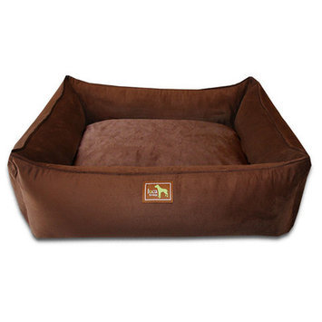 Luca For Dogs Easy-Wash Cover Lounge Donut Dog Bed Size: Small (26