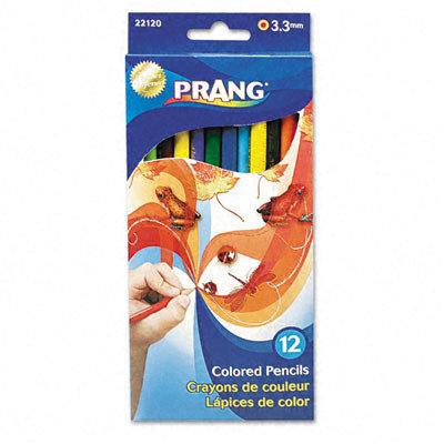 Dixon Ticonderoga Co. DIXON TICONDEROGA 12 Count Assorted Colors Colored Pencils