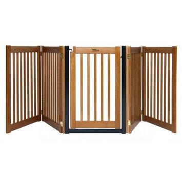 Dynamic Accents 42625 32in Walk-Through 5 Panel Free Standing Gate Artisan Bronz