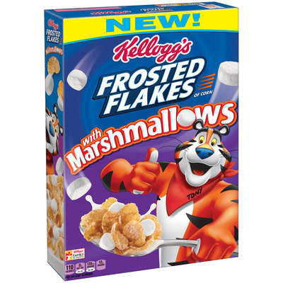 Kellogg's Frosted Flakes® with Marshmallows Cereal 13.6 oz. Box
