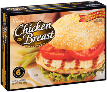 Pierre™ Flame Broiled Chicken Breast Sandwich 6-3.70 oz. Box