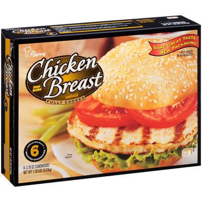 Pierre™ Flame Broiled Chicken Breast Sandwich 6-3.70 oz. Box