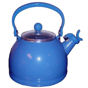 Reston Lloyd 2.5 qt. Whistling Tea Kettle Azure