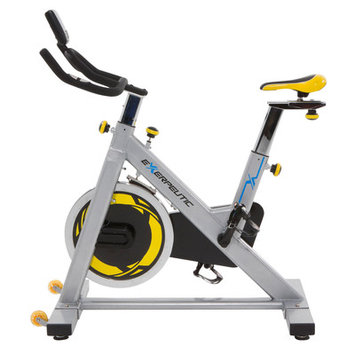 Paradigm Health And Wellness Inc Exerpeutic LX905 Indoor Cycle Trainer with Computer and Heart Pulse Sensors