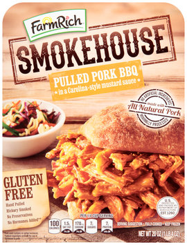 Farm Rich® Smokehouse™ Pulled Pork BBQ 20 oz Pack