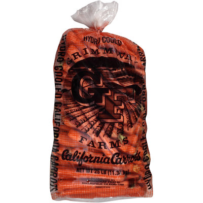 Grimmway Farms Hydro Cooled California Carrots 25 lb. Bag