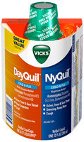 Vicks® DayQuil® Multi-Symptom LiquiCaps®/NyQuil® Nighttime Liquid Cold & Flu Relief Combo Pack