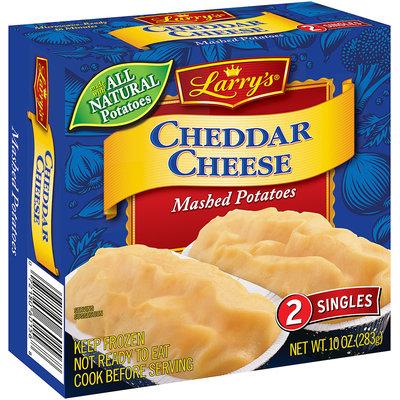 Larry's® Cheddar Cheese Mashed Potatoes 2 ct. Box