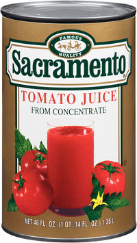 Sacramento® Tomato Juice from Concentrate 46 fl. oz. Can