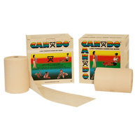 CanDo 10-5490 Low Powder Exercise Band 100 Yard 2 x 50-Yd Rolls Tan XX-Light