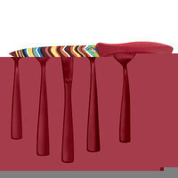 Fiesta 4 Piece Chevron Decal Knife Set