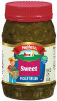 Heifetz Sweet Pickle Relish