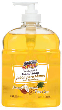 Special Value Antibacterial Pineapple Coconut Hand Soap 16.9 Fl Oz Pump